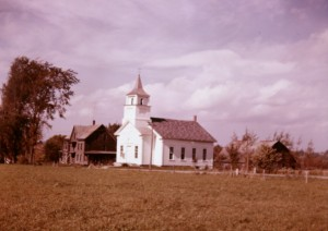 West Glover Church 1957